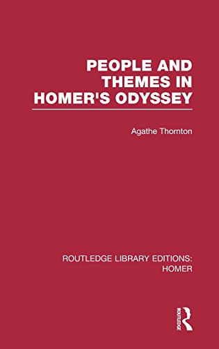 People and Themes in Homer's Odyssey