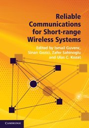 Reliable Communications for Short-Range Wireless Systems Hardback