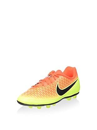 Nike Botas de fútbol Magista Ola FG-R (Amarillo / Naranja)