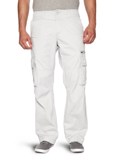 Quiksilver Marshes Plain Loose Men's Cargo Trousers Jetty Small