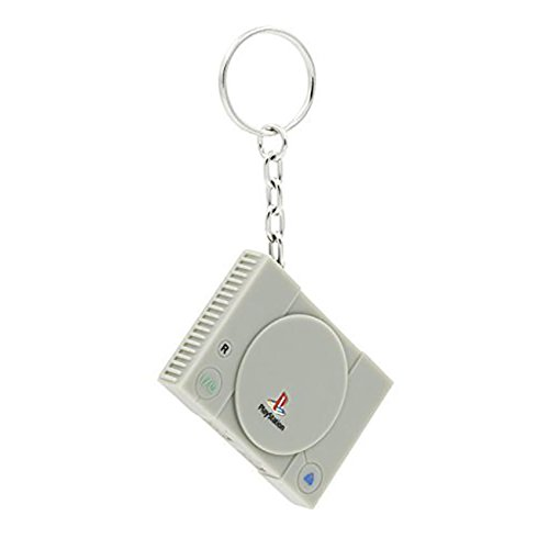 Playstation 1 console - keychain