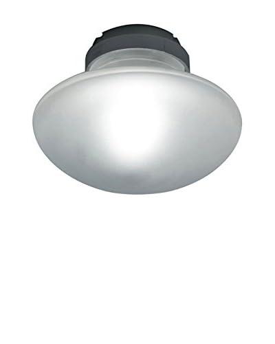 FontanaArte Lámpara De Techo Sillaba Blanco/Gris Ø 14 P 9 cm