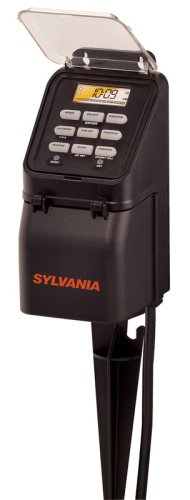 Sylvania SA220 15 Amp Zip Set Digital Outdoor Timer with Seven Outlets