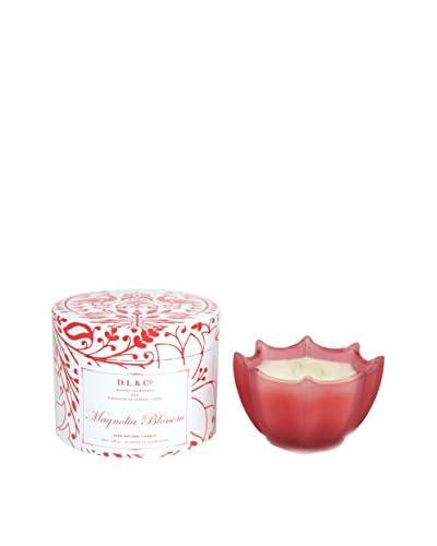 D.L. & Co. Magnolia Blossom 10-Oz. Scallop Candle