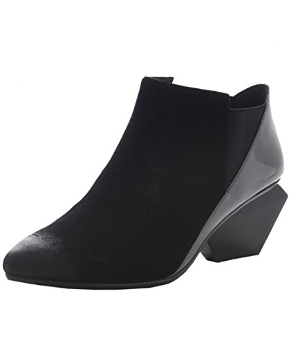 United Nude Women's Jacky Suede Ankle Boots US 6.5 Black & Gray