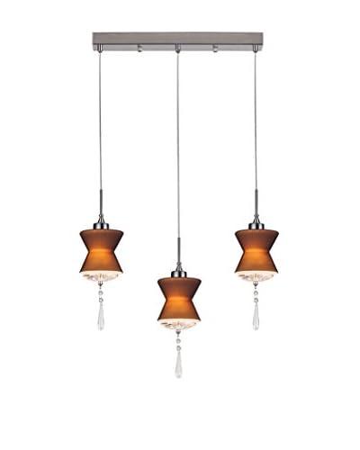 Lámpara De Suspensión Elegant Marrón
