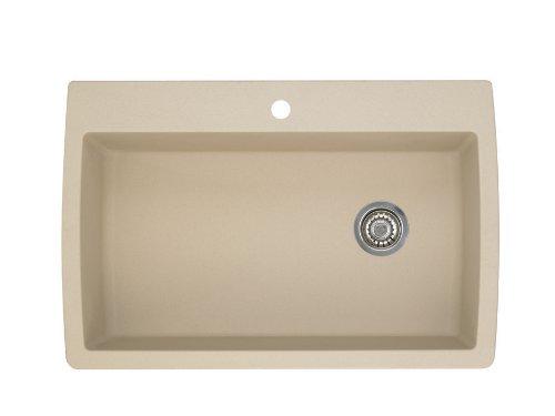 Blanco 441214 Diamond Super Single Bowl Silgranit Ii Sink, Biscotti Picture