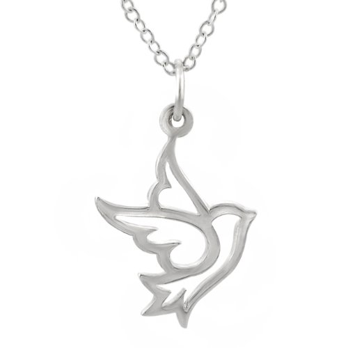 Sterling Silver Dove Necklace -- $20.99 + $2.95 shipping