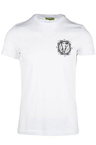 Versace Jeans t-shirt maglia maniche corte girocollo uomo sole slim bianco EU M (UK 38) B3GOA718 PRINT8