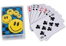 ~ 12 Decks ~ Mini Smile Face Playing Cards ~ NIP - 1