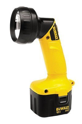 DeWALT DW904 Heavy-Duty 12V Cordless Pivoting Head Flashlight