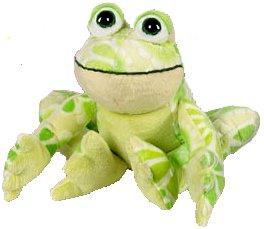 "Webkinz Flower Frog 8.5"" Plush"
