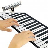 New Flexible Roll Up Synthesizer Keyboard Piano with Soft Keys - 128 Different Synthesized Tones Gadget Neuf