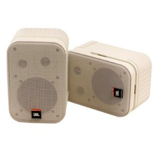JBL Control 1PRO Two-Way Compact Loudspeaker System (pair) - White - CONTROL1PROWH
