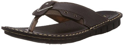 Bata Bata Men's Hawaii Thong Sandals (Brown)