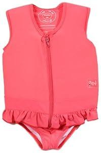 Plouf Drawing - Traje de natación infantil, tamaño 15 - 17 kg, color rosa