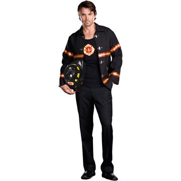 Smokin' Hot Fire Department Man Adult Costume
