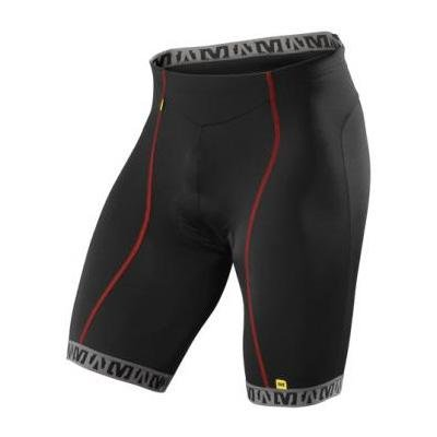 Image of Mavic 2010 Sprint Cycling Short - Black/Bright Red - 105566 (B00367RLU6)