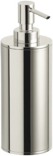 Kohler K-14379-SN Purist Countertop Soap Dispenser (Vibrant Polished Nickel)