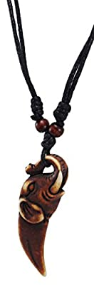 Elephant Necklace - Elephant Pendant with Adjustable Black Cord