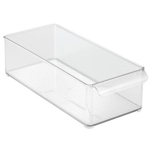 InterDesign Refrigerator and Freezer Storage Organizer Bin for Kitchen, 6