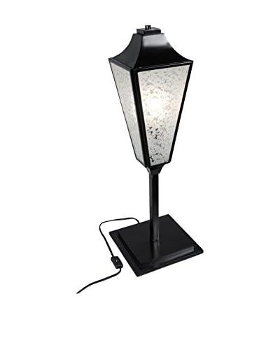 Varaluz Longfellow 1-Light Table Lamp, Black