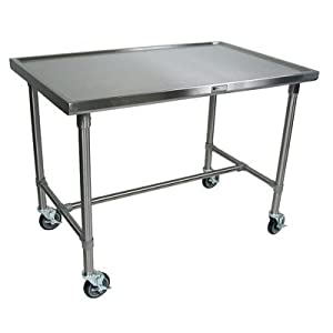 Amazon.com - Cucina Americana Mariner Prep Table with Stainless Steel