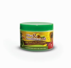 Sofn'free n Pretty Olive & Sunflower Oil Edge Tamer (125g)