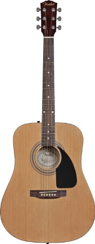 Fender FA-100 Acoustic Guitar with Gig Bag