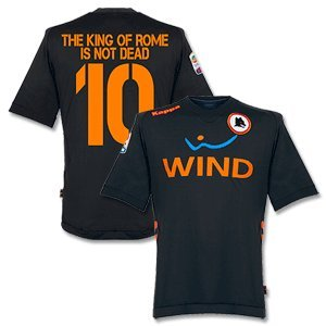 11-12 AS Roma 3rd Jersey + The King Of Rome Is Not Dead 10