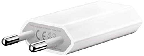 Apple MD813 A1400 - Alimentatore Spina Carica Batteria di rete USB per iPhone 4 4s 5 5s 5c 6 6s SE e iPod