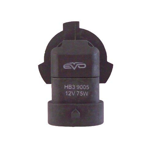 EVO Formance 93416 Spectras 9005 75W=100W Ultra White Halogen Bulb - Pack of 2