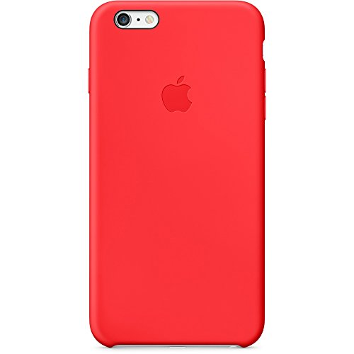 Apple MGRG2ZM/A Silikon Hülle für iPhone 6 Plus rot