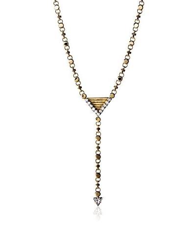 Yochi Sparkle Y Necklace