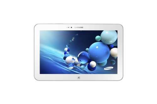 Samsung ATIV Tab 3 10.1-inch Tablet – White (Intel Atom Z2760 1.8GHz, 2GB RAM, 64GB SSD, LAN, WLAN, BT, Webcam, Integrated Graphics, Windows 8)