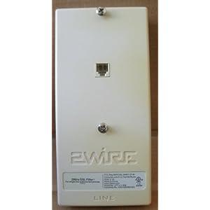 2wire lft 4 1 wm single line wall mount dsl. Black Bedroom Furniture Sets. Home Design Ideas