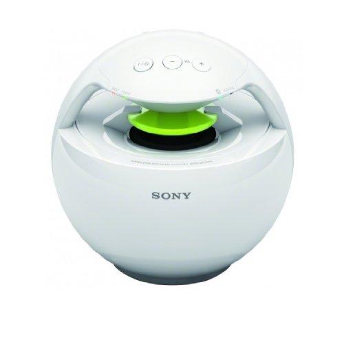 Sony SRSBTV25W 360° Bluetooth Sound System weiß
