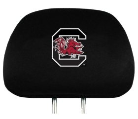 South Carolina Gamecocks Two Pack Headrest Covers