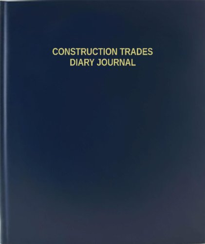 BookFactory® Construction Trades Diary Journal