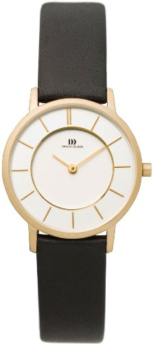 Danish Designs Women's IV15Q789 Stainless Steel Gold Ion Plated Watch