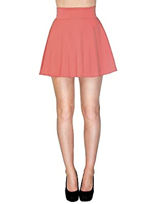 Simplicity Cute/High Waisted Mini Skirt in a Pleated and Flared Design