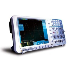 """New Owon 100Mhz Oscilloscope Sds7102 1G/S Large 8"""" Lcd W/ Lan+Battery+ Portable Bag"""