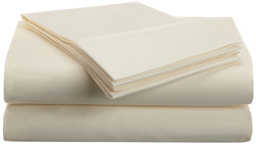 Impressions 1500 Series Wrinkle Resistant Twin Xl 3-Pc Sheet Set Solid, Ivory front-184331