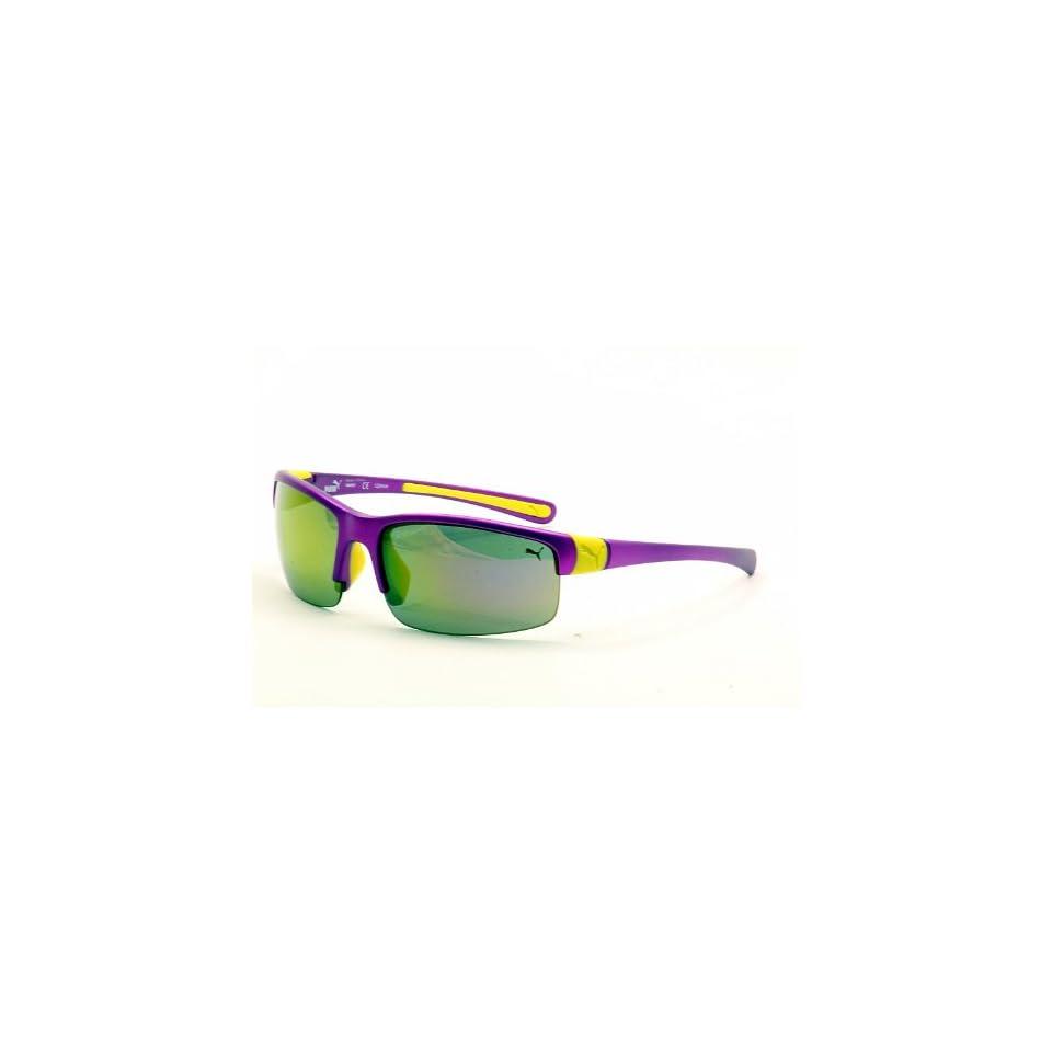 1f2f16a2fae8 Puma Sunglasses Neon PU15145 15145 PU Purple Shades on PopScreen