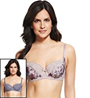2 Pack Per Una Ornate Lace Non-Padded B-DD Bras