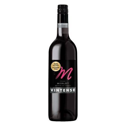 【ノンアルコール ワイン】ヴィンテンス(Vintense)メルロー(赤)750ml【1本】