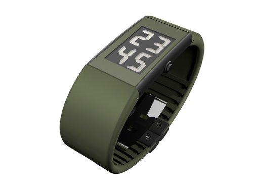 Rosendahl - 43109 - Montre Homme - Quartz - Digitale - Bracelet Caoutchouc Vert