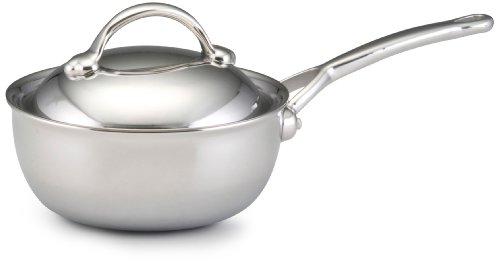 Bonjour Stainless Steel Clad 2.5-Quart Covered Saucier front-541615