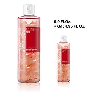 NEOGEN Real Flower Cleansing Water Rose 9.9 Fl.oz. (Rose Flower Water compare prices)