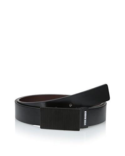 Steve Madden Men's Textured Belt